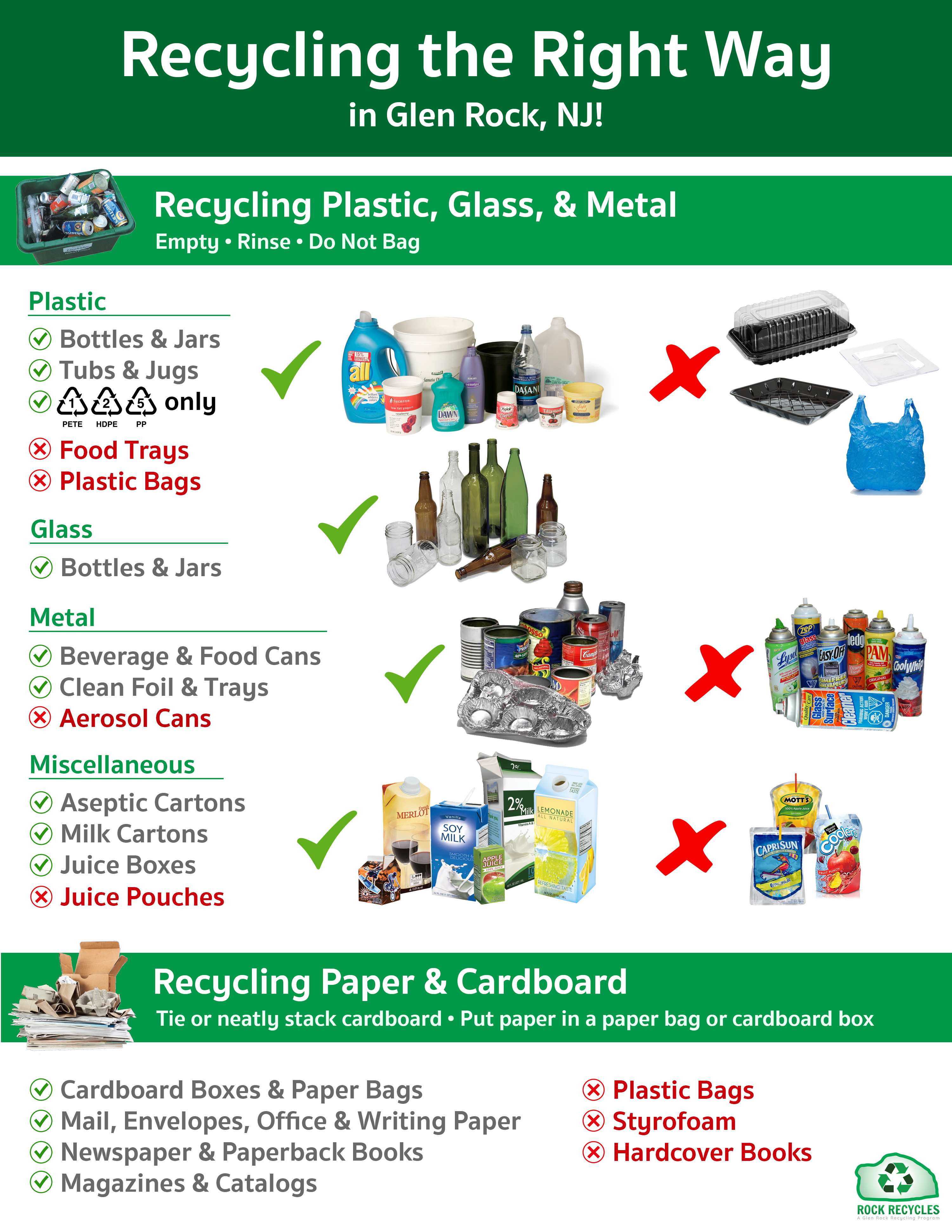 recycling borough of glen rock new jersey